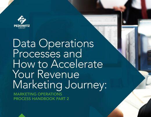 Data Operations Process Marketing Operations eBook