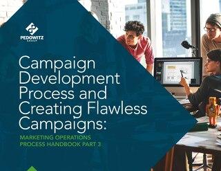 Campaign Development Process Marketing Operations eBook