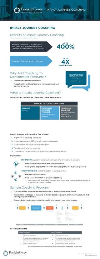 Coaching Journey Infographic