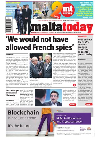 MALTATODAY 18 November 2018