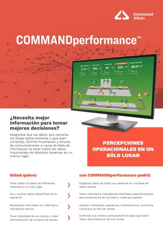 COMMANDperformance - Spanish