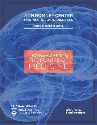 2018 Ann Romney Center for Neurologic Diseases Annual Report