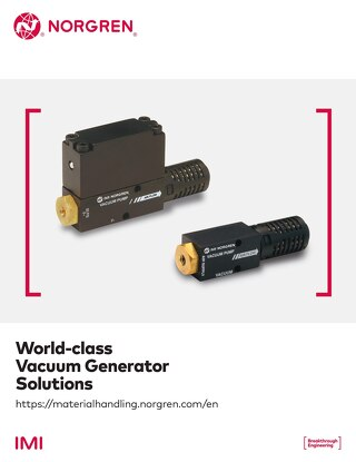 Norgren Full Line Vacuum Catalog