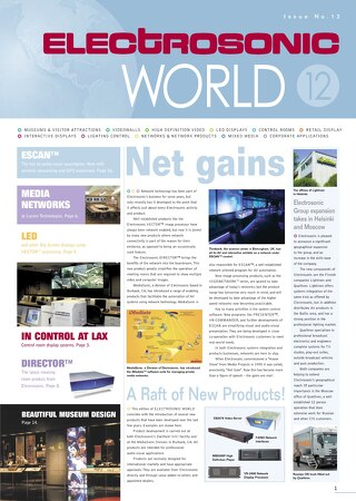 Electrosonic World 12