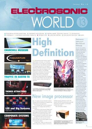 Electrosonic World 13
