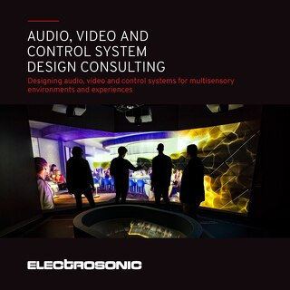Audio, Visual and Control Systems Design Consulting Brochure