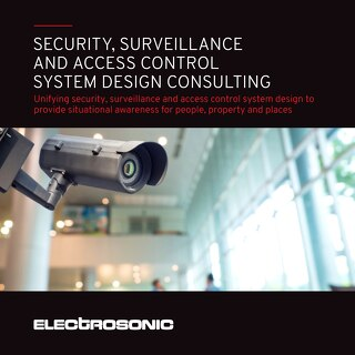 Security, Surveillance and Access Control System Design Consulting Brochure