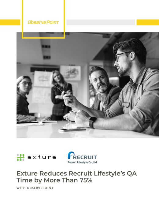 Exture Reduces Recruit Lifestyle's QA Time by More Than 75%