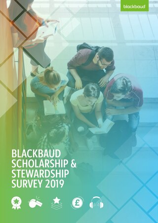 Blackbaud Scholarship and Stewardship Survey 2019