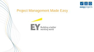 EY: Easy Projects Presentation