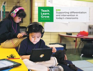 Supporting differentiation and intervention in today's classrooms