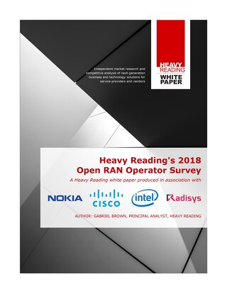 Heavy Reading 2018 Open RAN Operator Survey