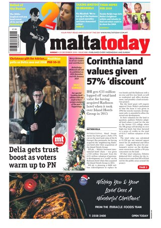 MALTATODAY 23 December 2018