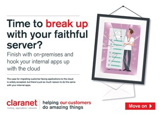 Time to break up with your faithful server?