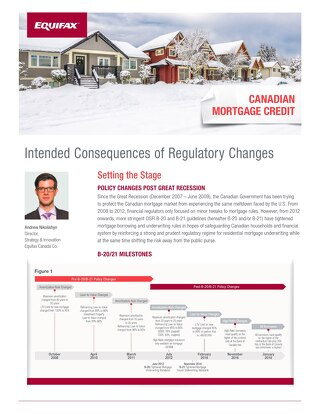 Whitepaper: Canadian Mortgage Credit