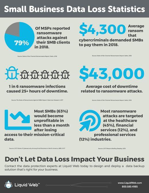 2018 SMB Data Loss Statistics