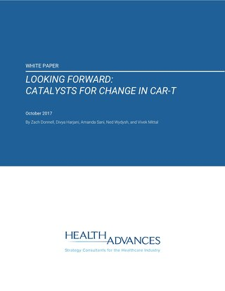 Looking Forward: Catalysts for Change in CAR-T