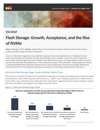 The Rise of NVMe