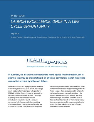Launch Excellence: Once in a Life Cycle Opportunity