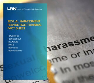 Sexual Harassment Prevention Training Fact Sheet