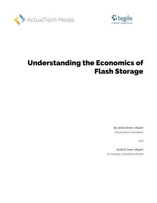 Understanding the Economics of Flash Storage