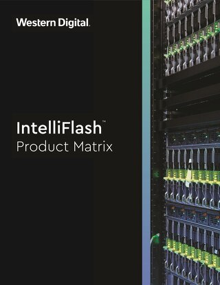 IntelliFlash Product Matrix