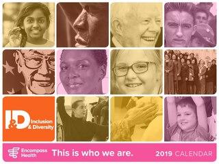 2019 Diversity Calendar