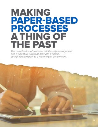 Making Paper-Based Processes a Thing of the Past