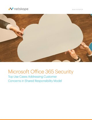 Microsoft Office 365 Security: Top Use Cases Addressing Customer Concerns in Shared Responsibility Model