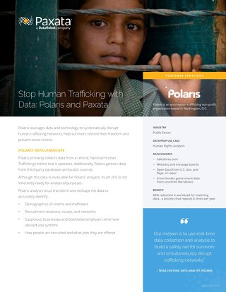 Polaris Stops Human Trafficking with Data