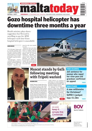 MALTATODAY 12 DECEMBER 2018 MIDWEEK