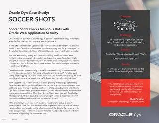 Case Study: Soccer Shots