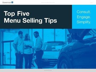 Top 5 Menu Selling Tips eBook