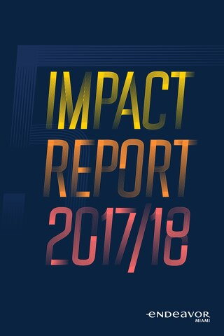 Endeavor Miami 2017-18 Impact Report