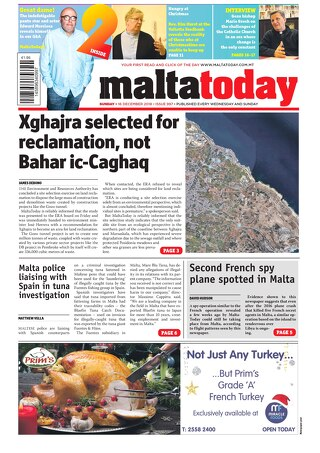MALTATODAY 16 December 2018