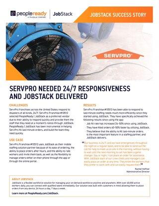 JobStack Case Study: ServPro