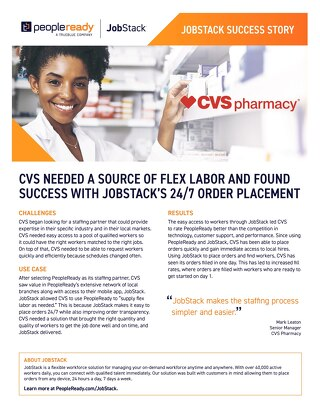 JobStack Case Study: CVS