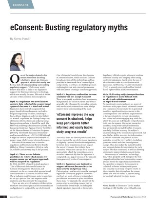 eConsent Regulatory Myths_PME_NPundir