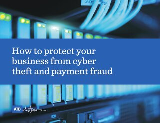 How to protect your business from cyber theft and payment fraud whitepaper