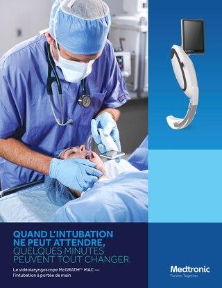 Quand l'intubation  ne peut attendre, quelques minutes  peuvent tout changer.