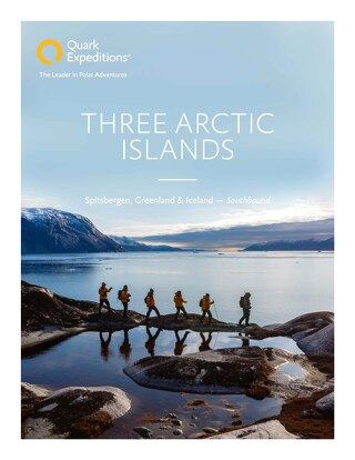 Three Arctic Islands: Spitsbergen, Greenland & Iceland (Southbound)