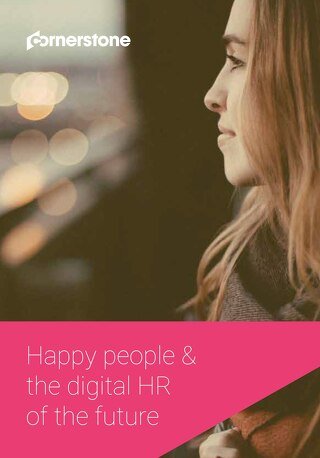 Happy people & the digital HR of the future