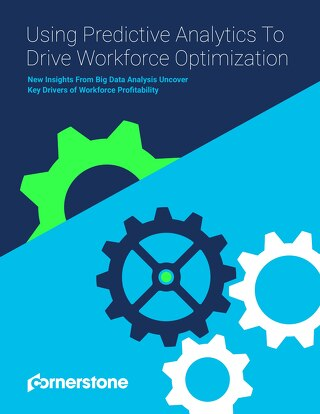 Using predictive analytics to drive workforce optimisation
