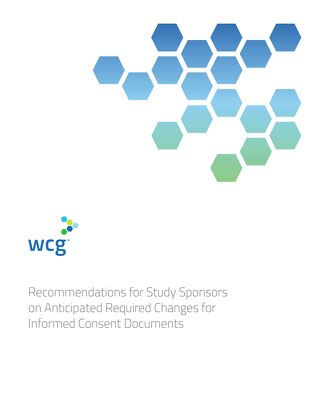 Recommendations for Study Sponsors on Informed Consent Documents