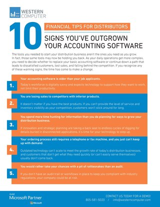 10 Signs You've Outgrown Your Accounting Software