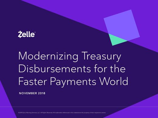 Disbursements with Zelle eBook