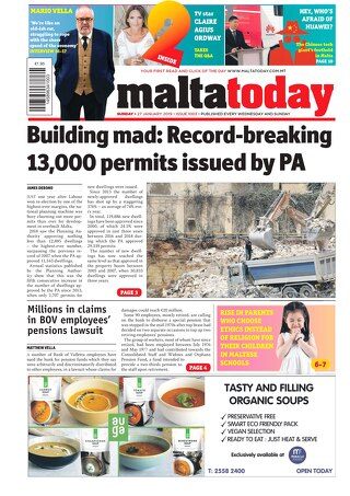 MALTATODAY 27 January 2019
