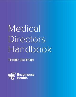Medical Directors Handbook