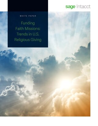 Funding Faith Missions Trends in U.S. Religious Giving