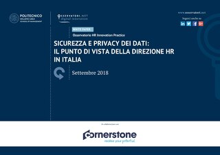 Sicurezza E Privacy Dei Dati: Il Punto Di Vista Della Direzione HR In Italia